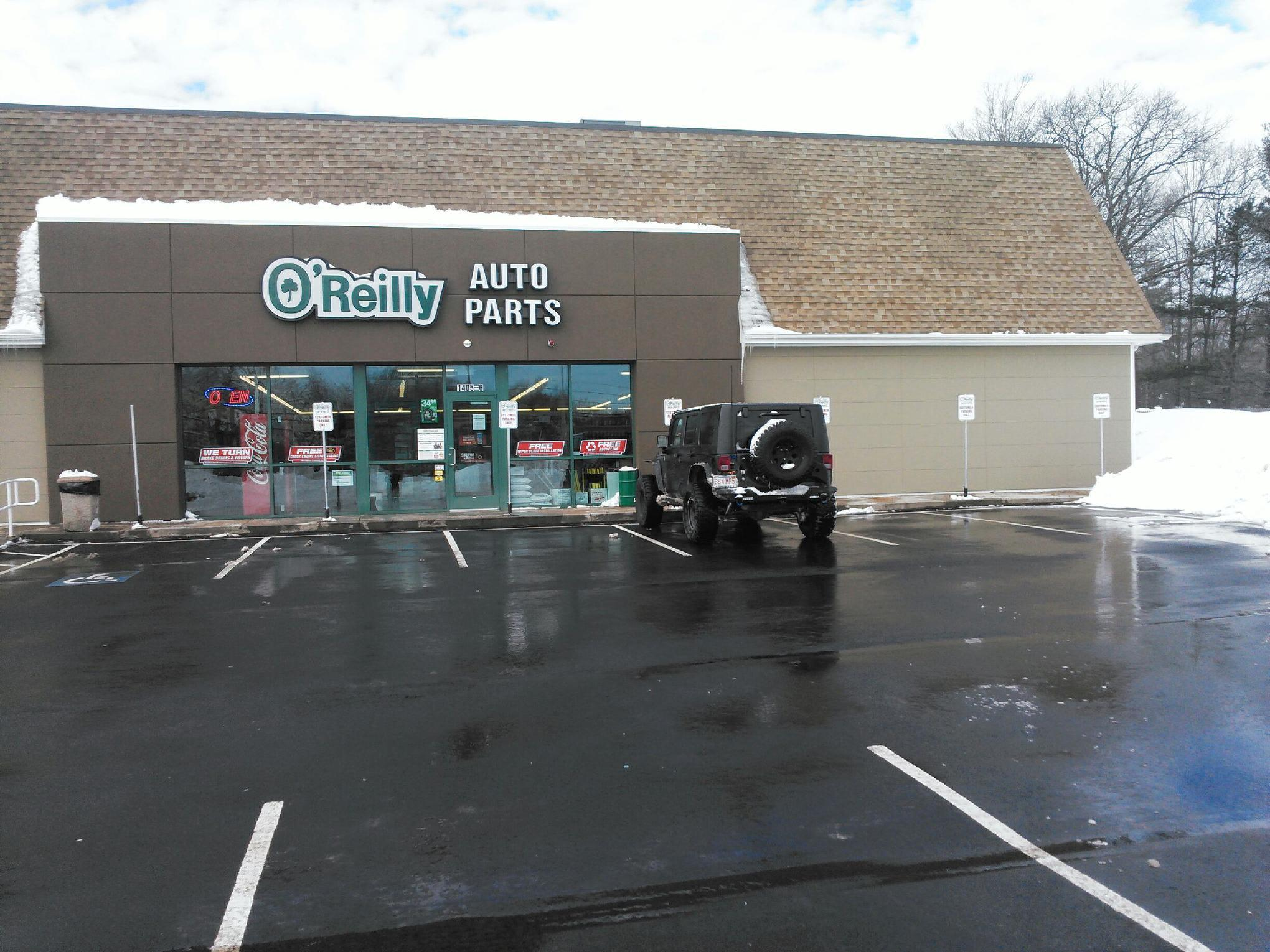 O 39 reilly auto parts at 1405 boston providence tp norwood for Washington street motors norwood