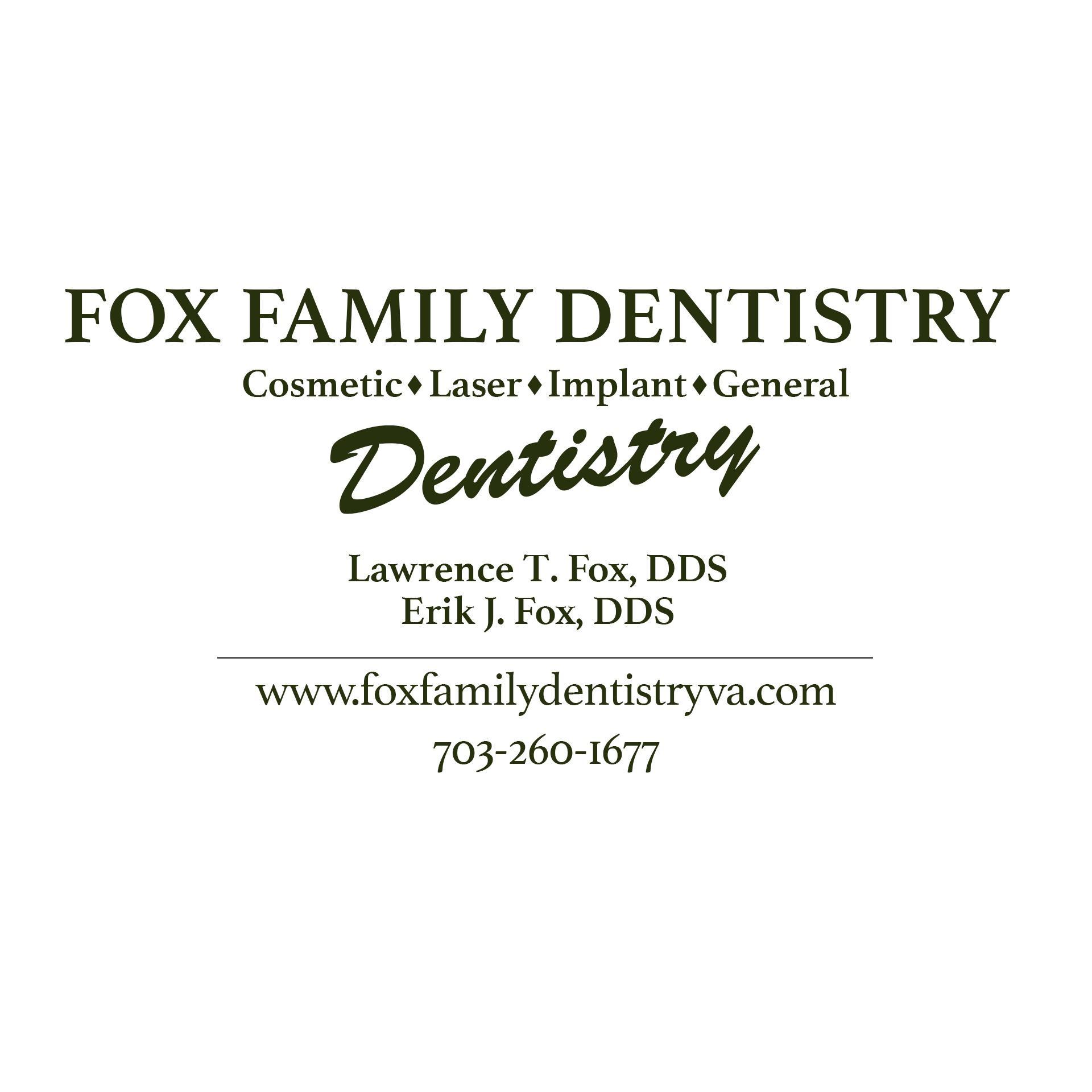 Fox Family Dentistry - Dr. Larry Fox - Burke, VA - Dentists & Dental Services