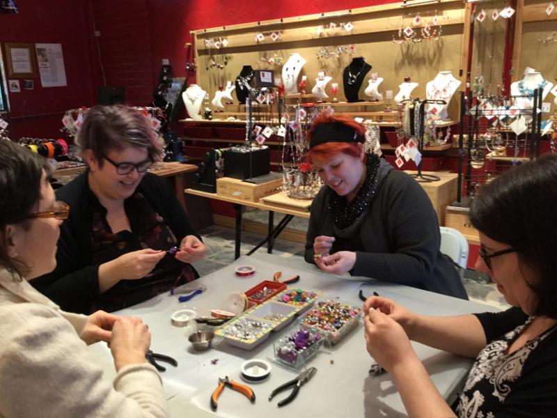 ISABELLE LEHOUX MONTRÉAL in Montréal: Un atelier créatif dans le plaisir!
