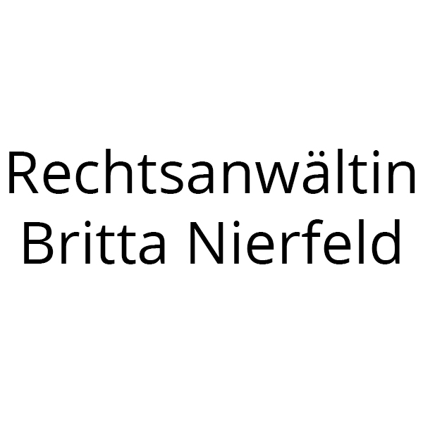 Britta Nierfeld Rechtsanwältin
