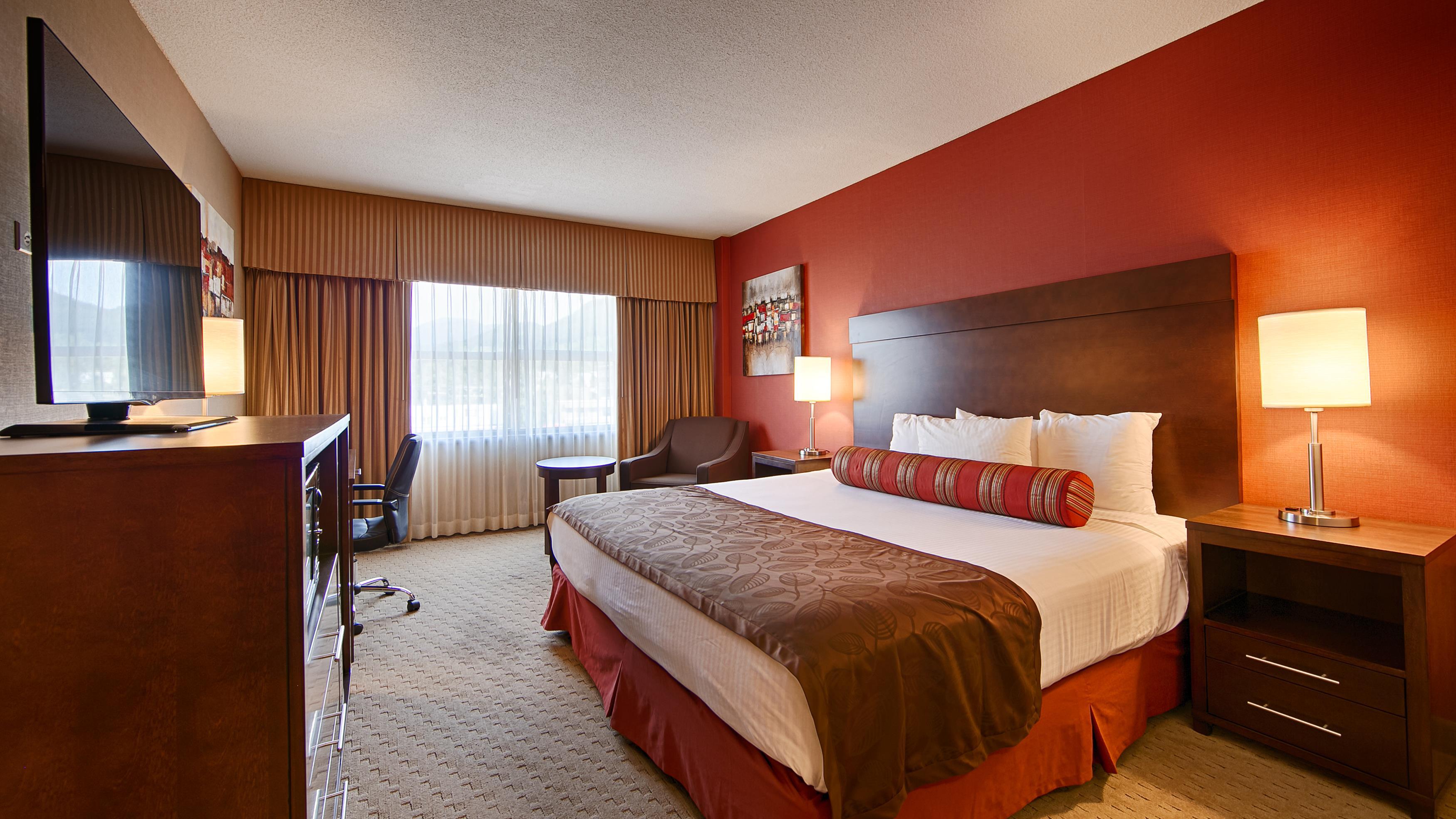 Best Western Terrace Inn in Terrace: King Bed Guest Room