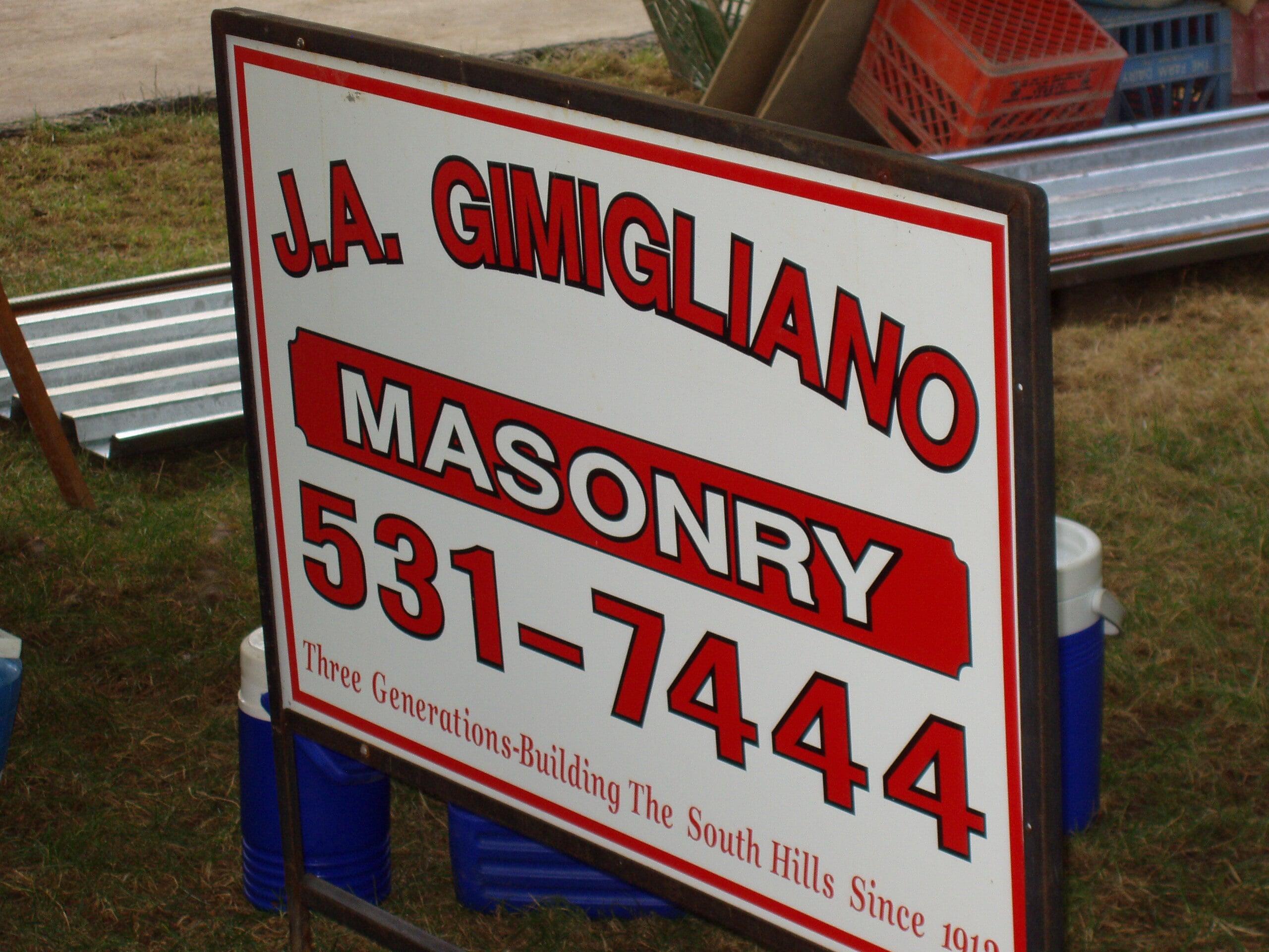 J.A. Gimigliano Masonry image 36