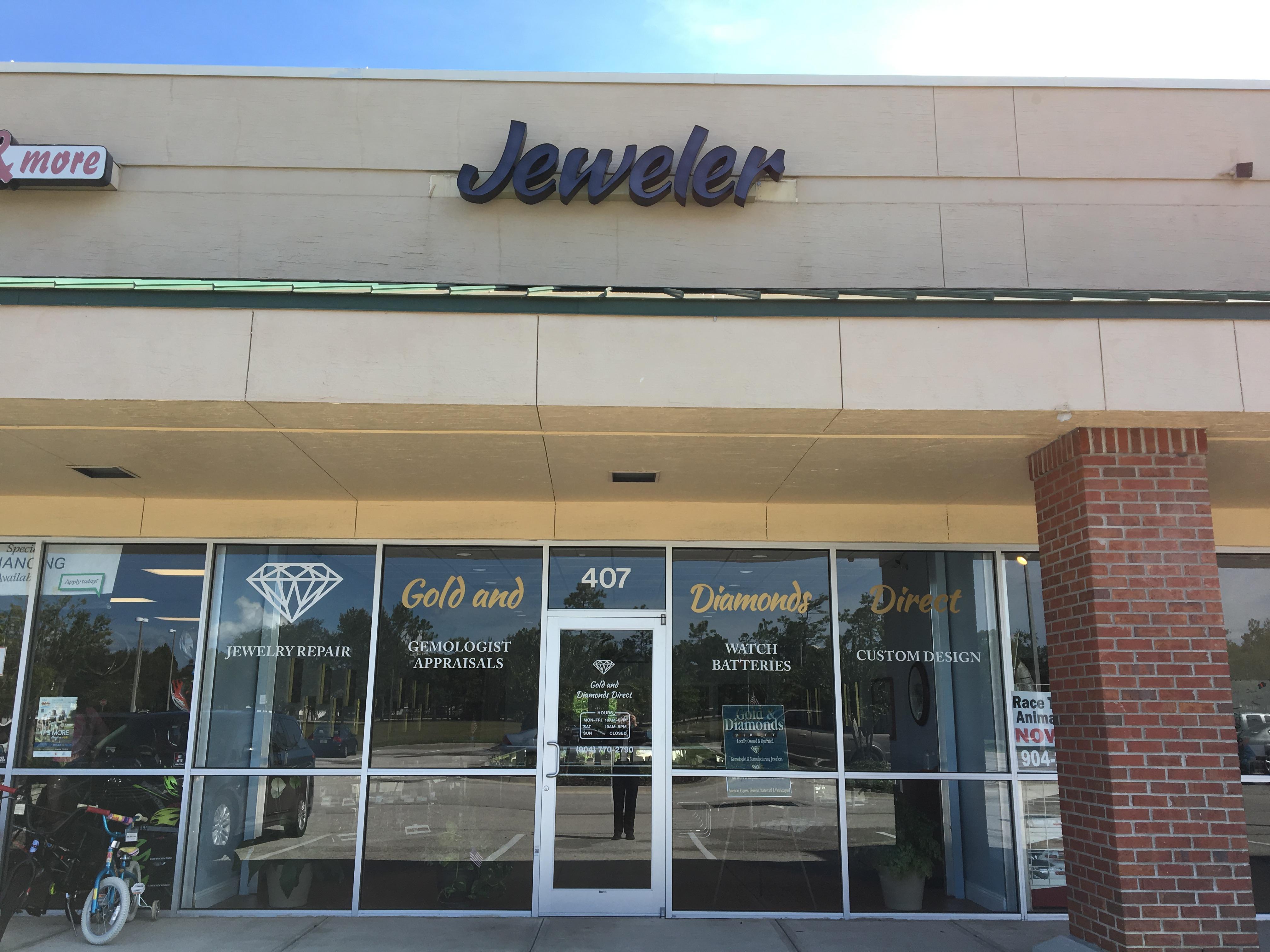 Gold Diamonds Direct Jewelry Repair Service Saint Johns Fl 32259
