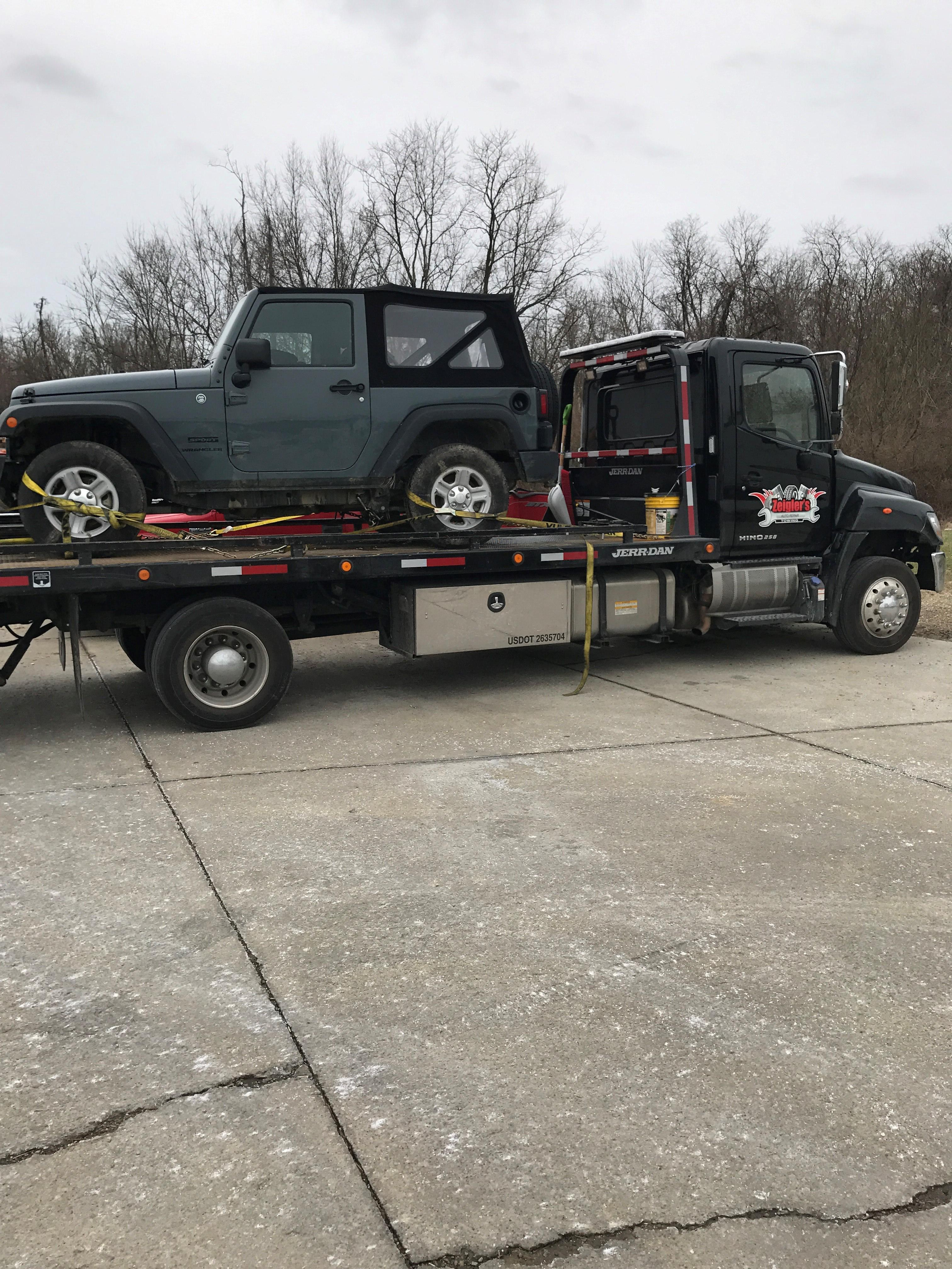 Zeigler 39 S Towing Recovery Coupons Near Me In Florence