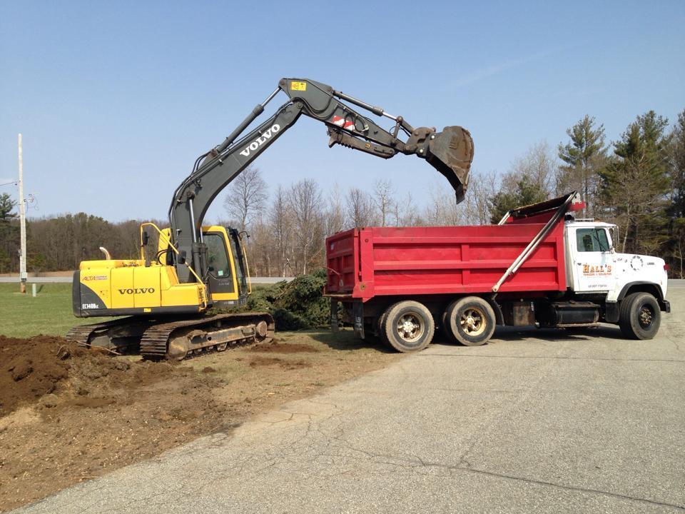 Hall S Trucking Amp Excavating Excavating Contractors