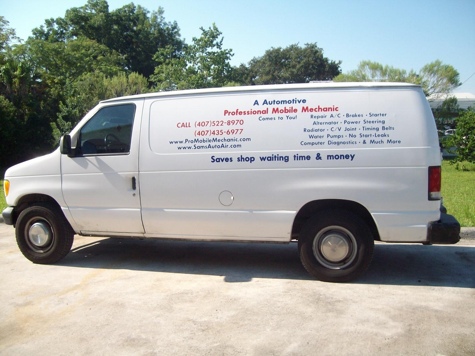 Professional Mobile Mechanic Winter Garden Fl Company