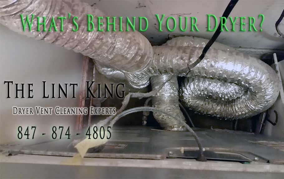 If we see any damaged or crushed dryer vent pipe during our initial service assessment, we will bring this to the customer's attention and recommend a solution.