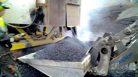 Tillverkning av återvunnen asfalt