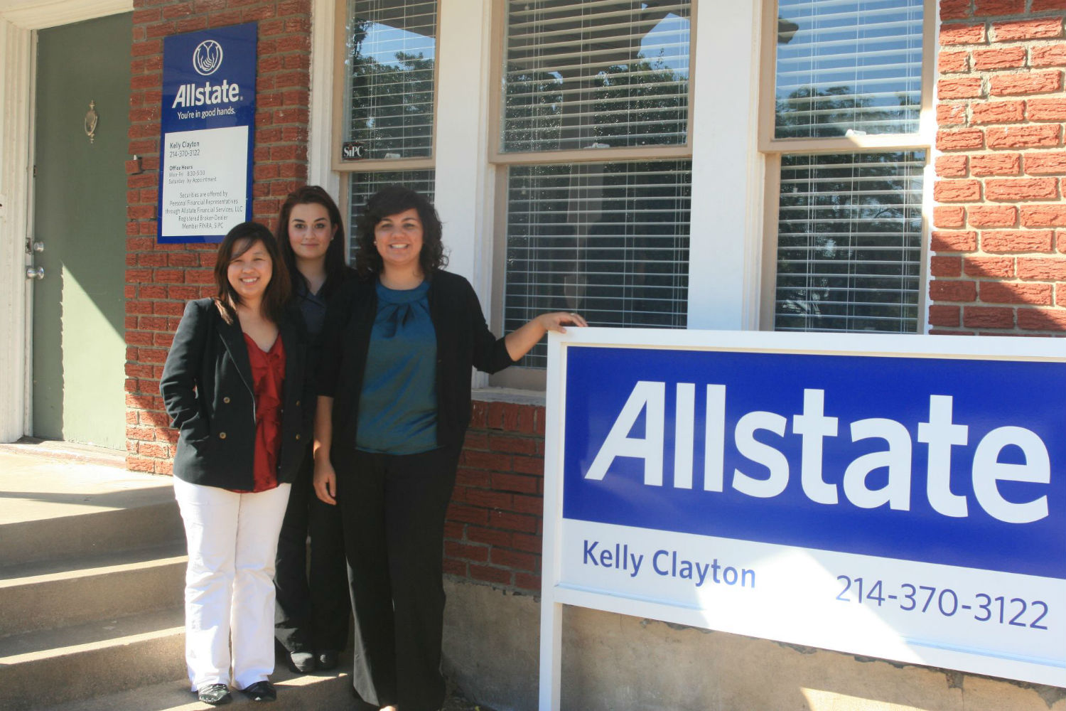 Allstate Insurance Agent: Kelly Clayton