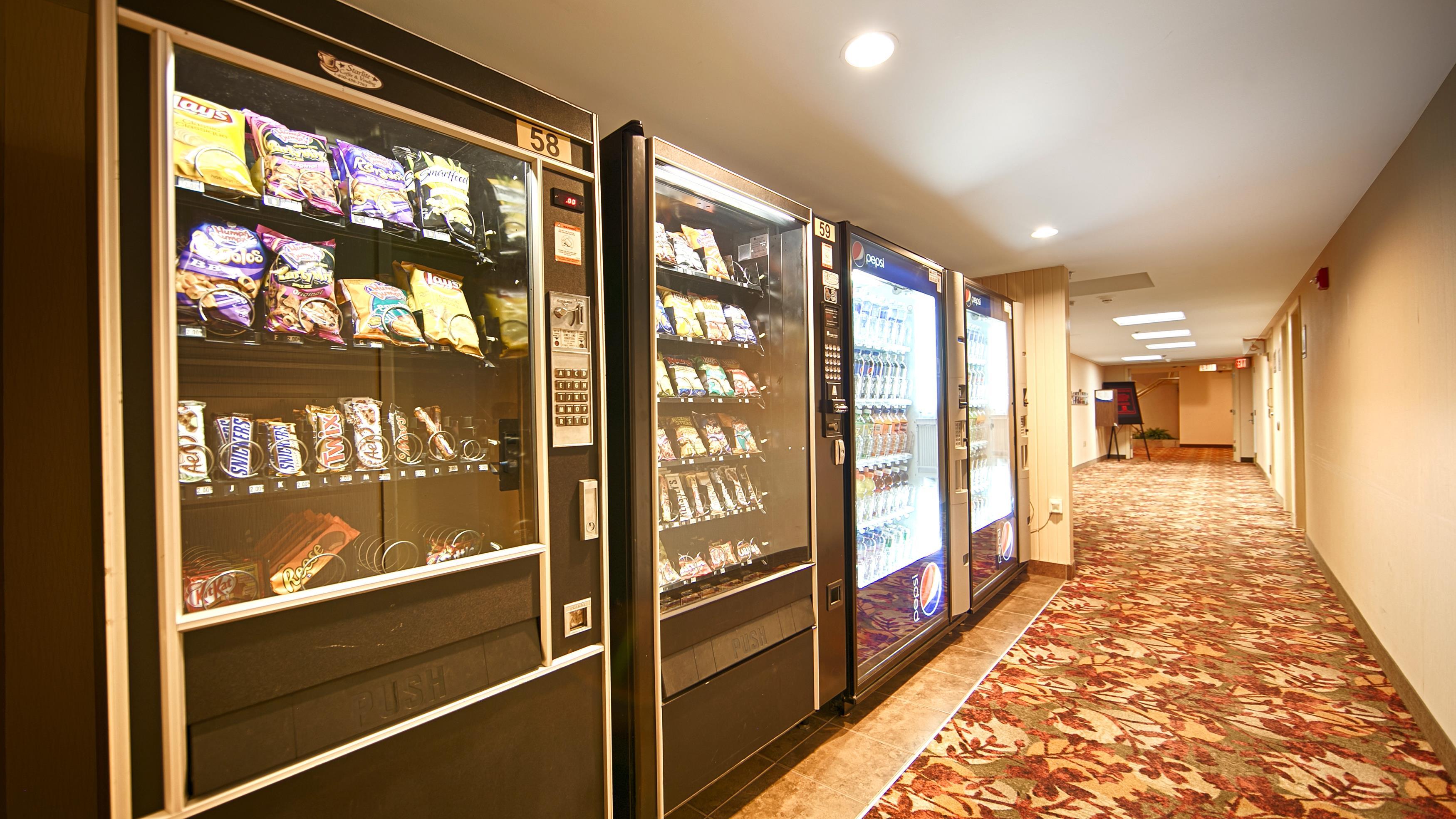 Charlottetown Inn & Conference Centre in Charlottetown: Vending Machine