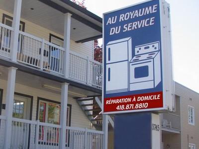 Au Royaume du Service Enr à Québec