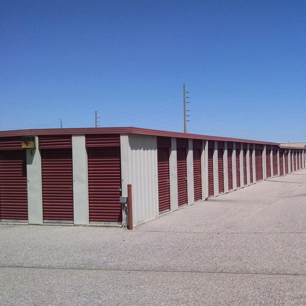 We offer many sizes of Mini Storage Units near Gunter AFB, Montgomery, AL.