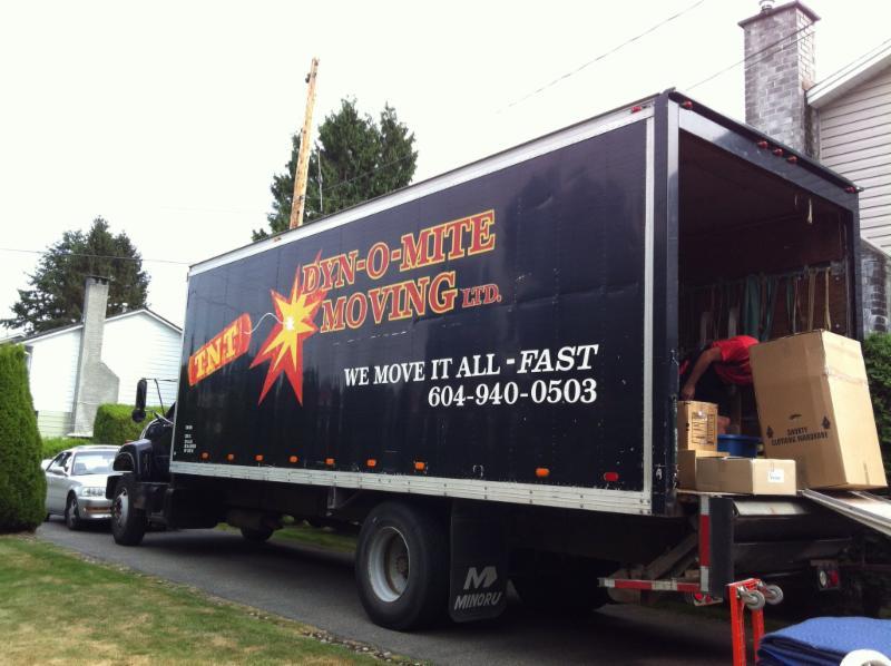 TNT Dyn-o-mite Moving Ltd in Delta