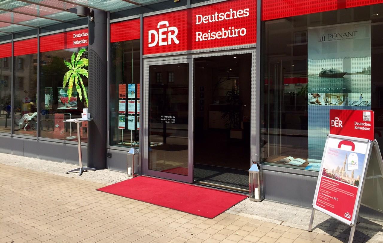DER Deutsches Reisebüro, Theresienstraße 9 in Nürnberg