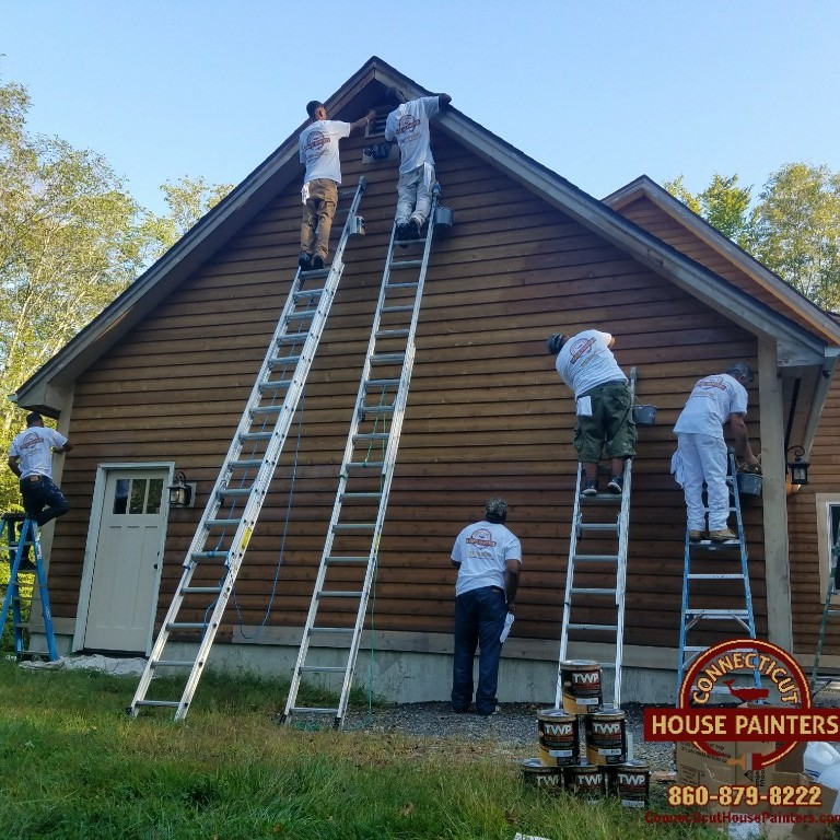 We know the requirements for painting houses in seasonal for House painting connecticut