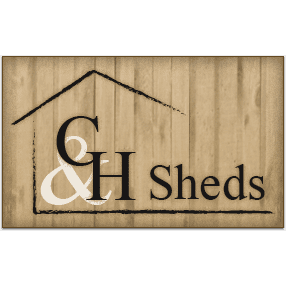 C & H Sheds Logo