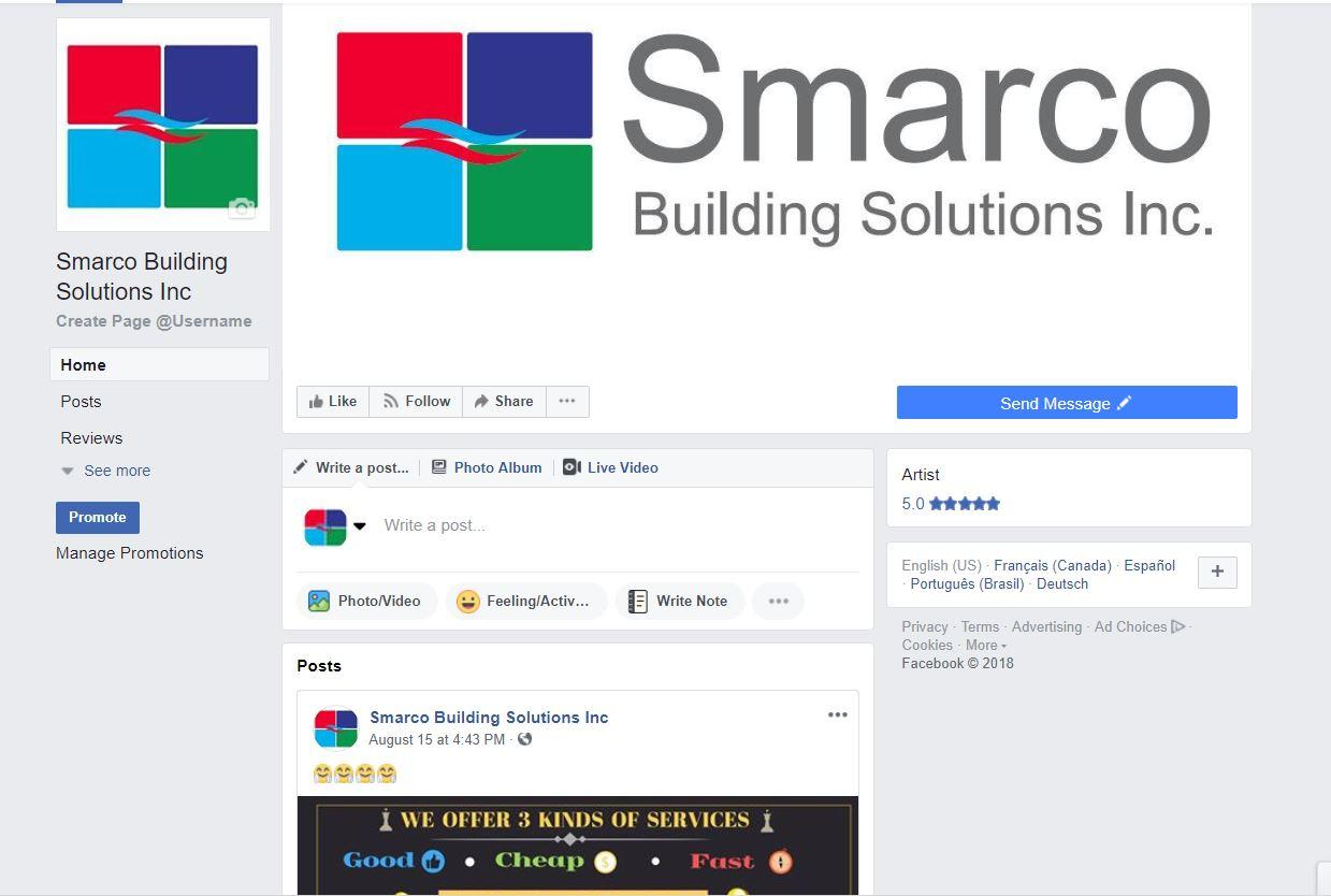 Smarco Building Solutions Inc.