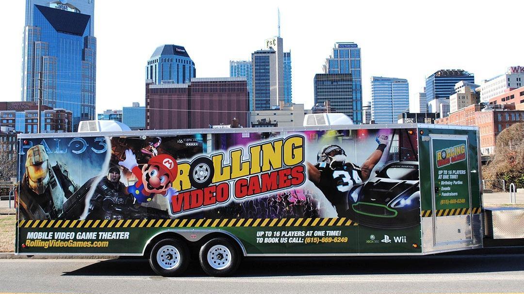Rolling Video Games Nashville image