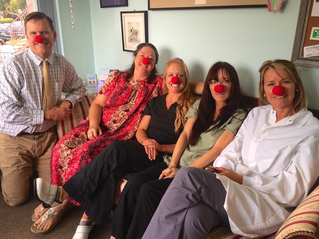 Dr. Brien Hill, Dr. Tamara Schneidmiller, and the rest of the dental team!