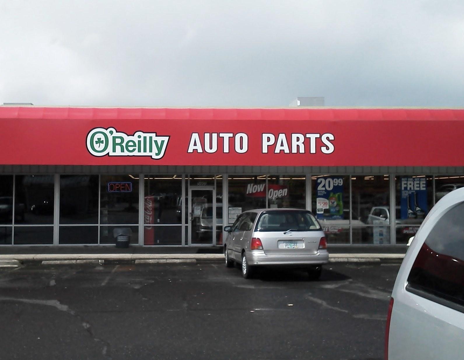 O reilly auto coupon code