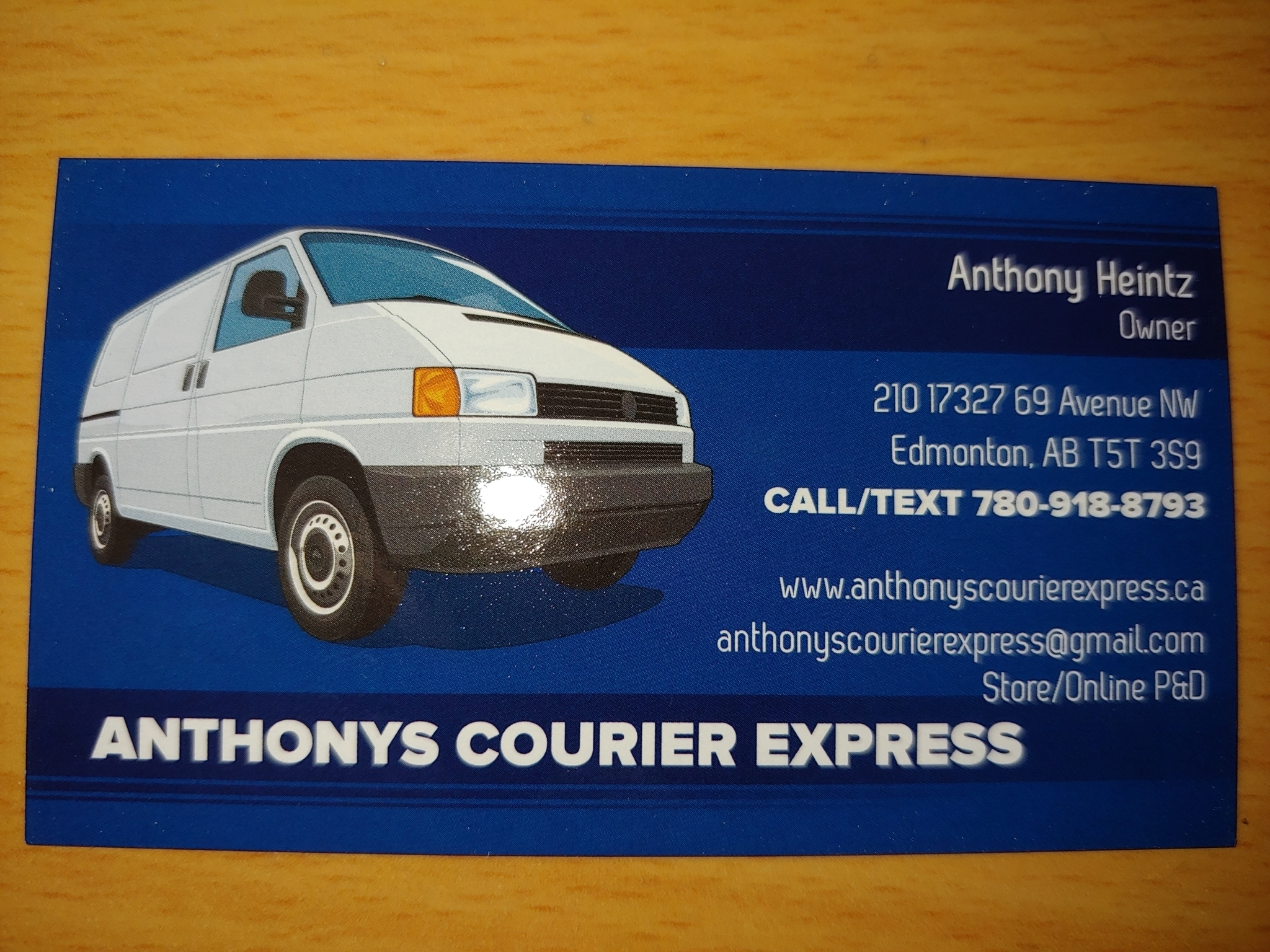 Anthony's Courier Express