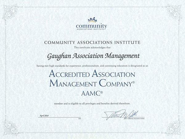 Gaughan Association Management