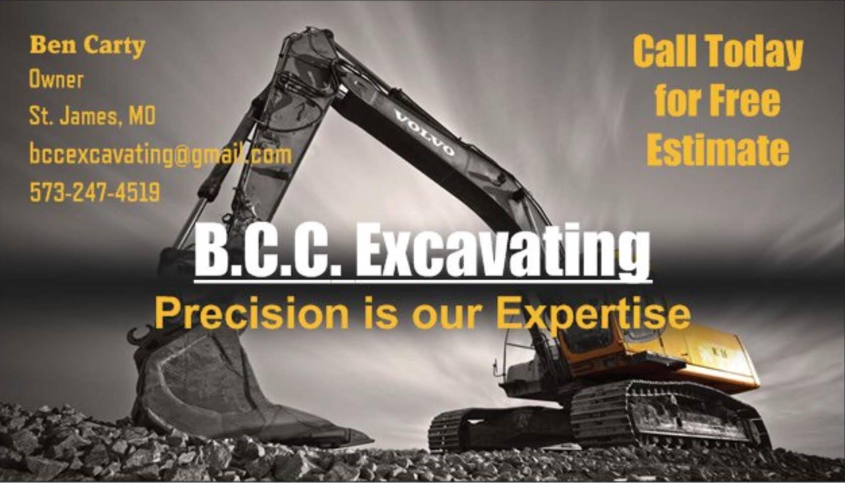 B.C.C. Excavating, LLC image 0