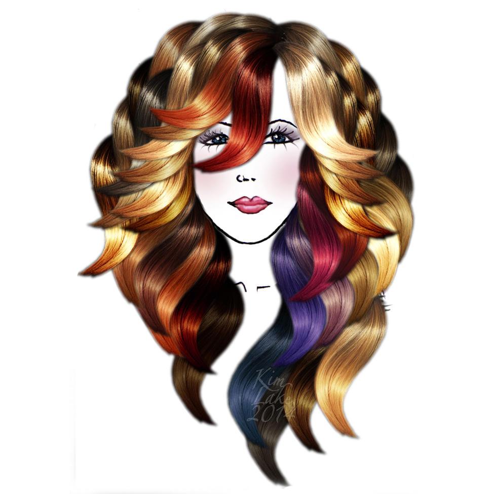 Kim Lake Hair