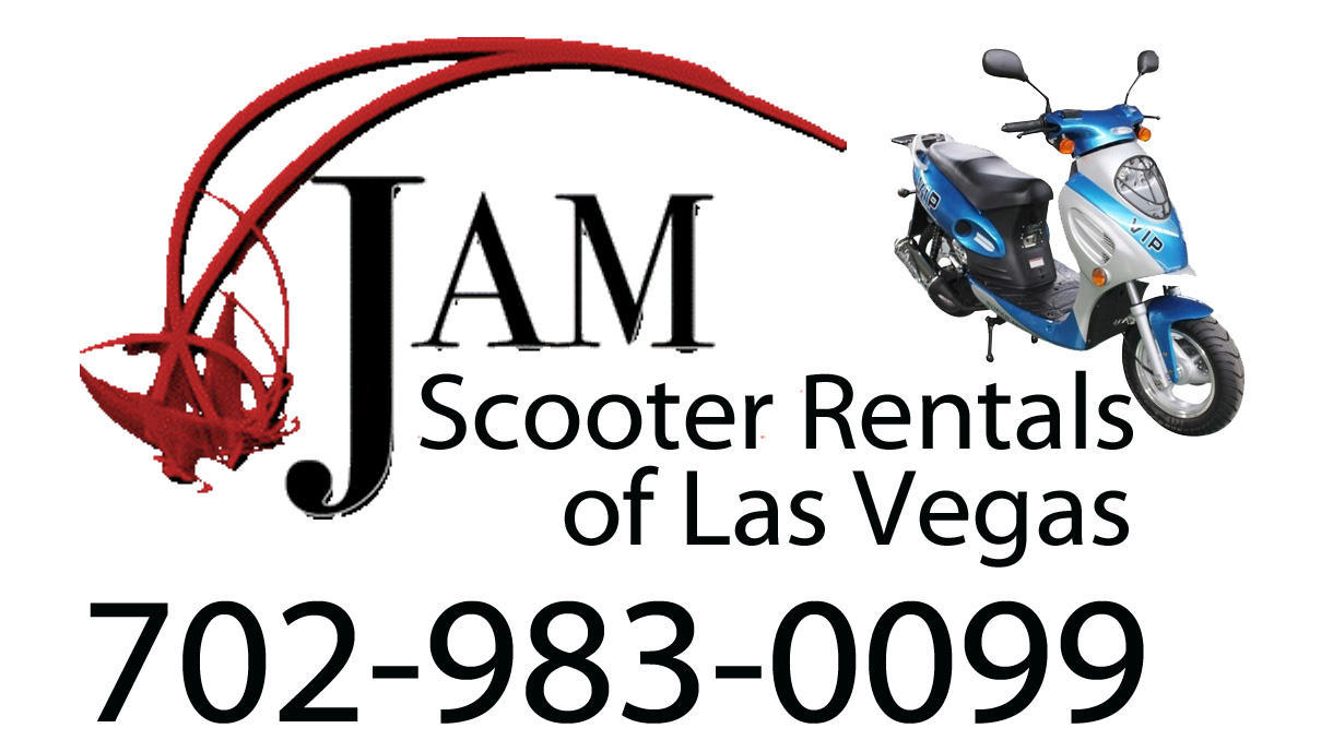 Jam scooter rental of las vegas tour operator las vegas for Motorized scooter rental las vegas