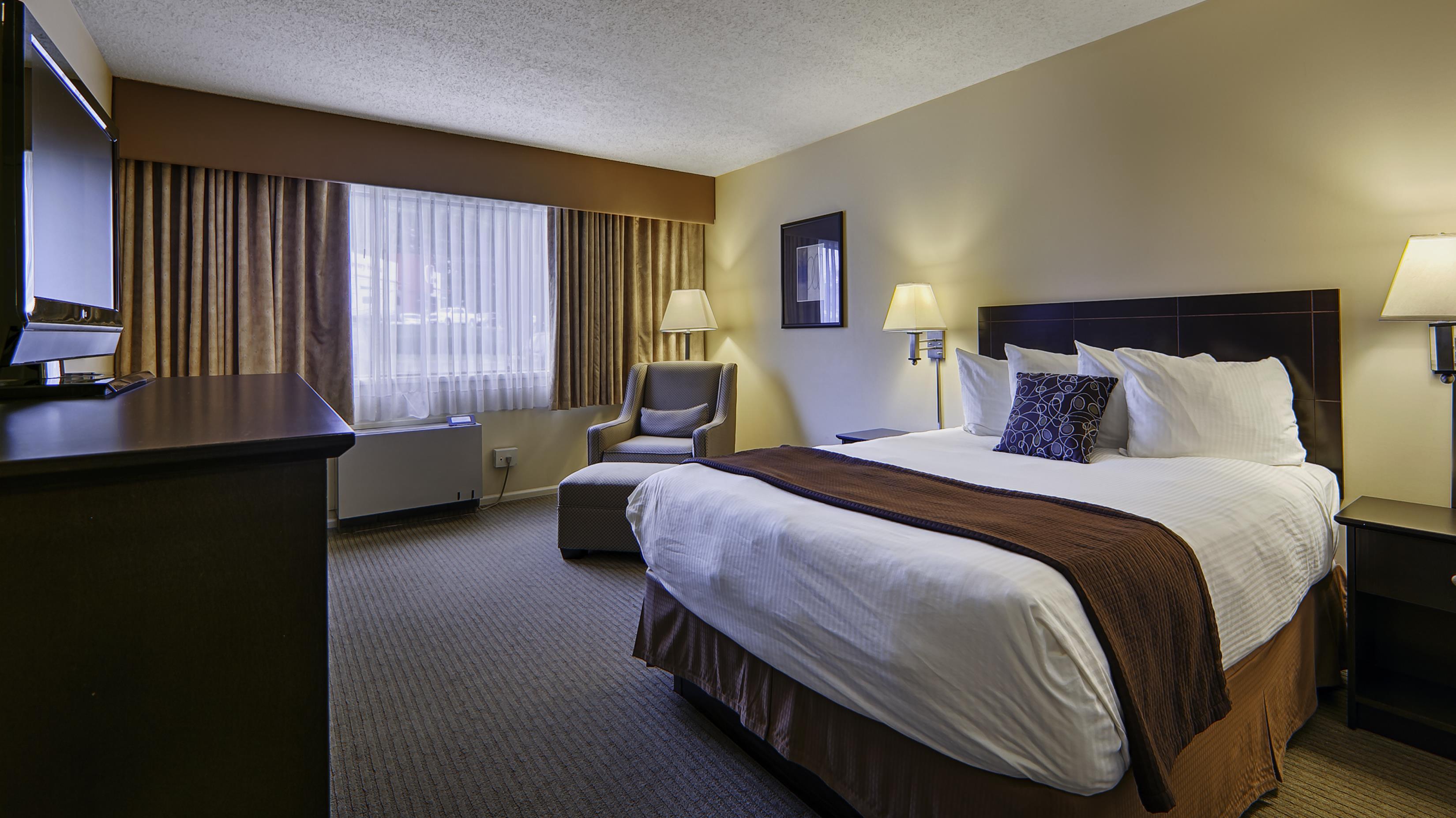 Best Western Cowichan Valley Inn in Duncan: 2 Double Bed Guest Room