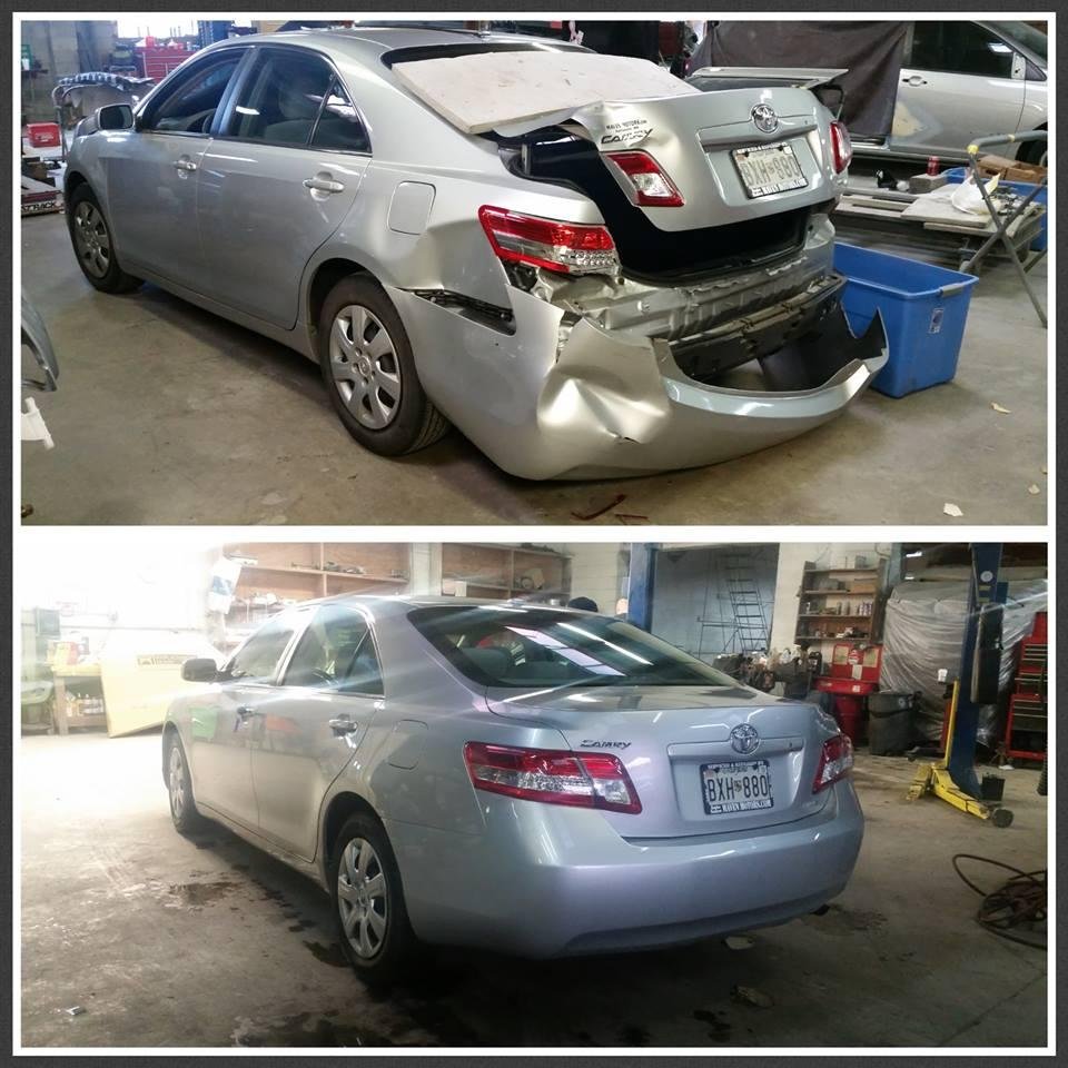 Auto body work Before & After