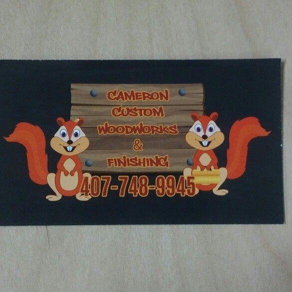 Cameron's Custom Woodworks & Finishing