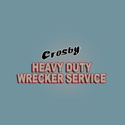 Crosby Heavy Duty Wrecker Service