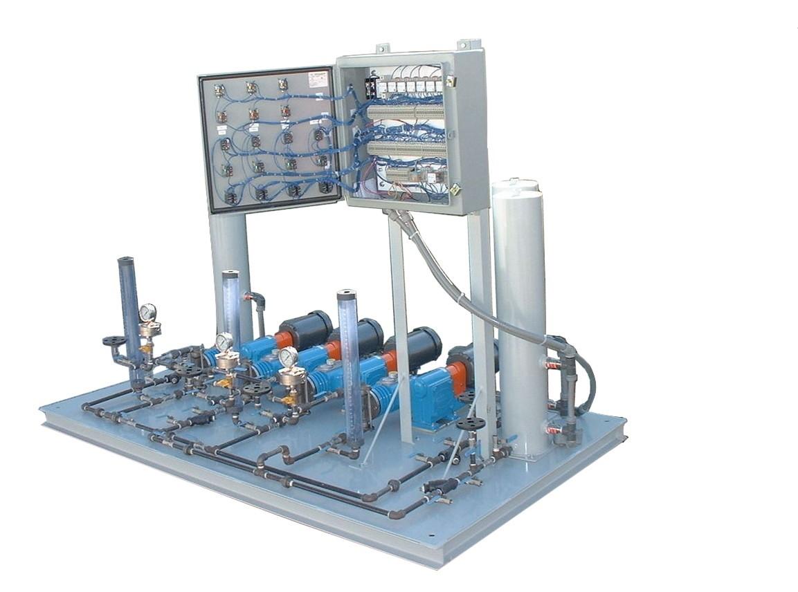 Metering Pump Feed System