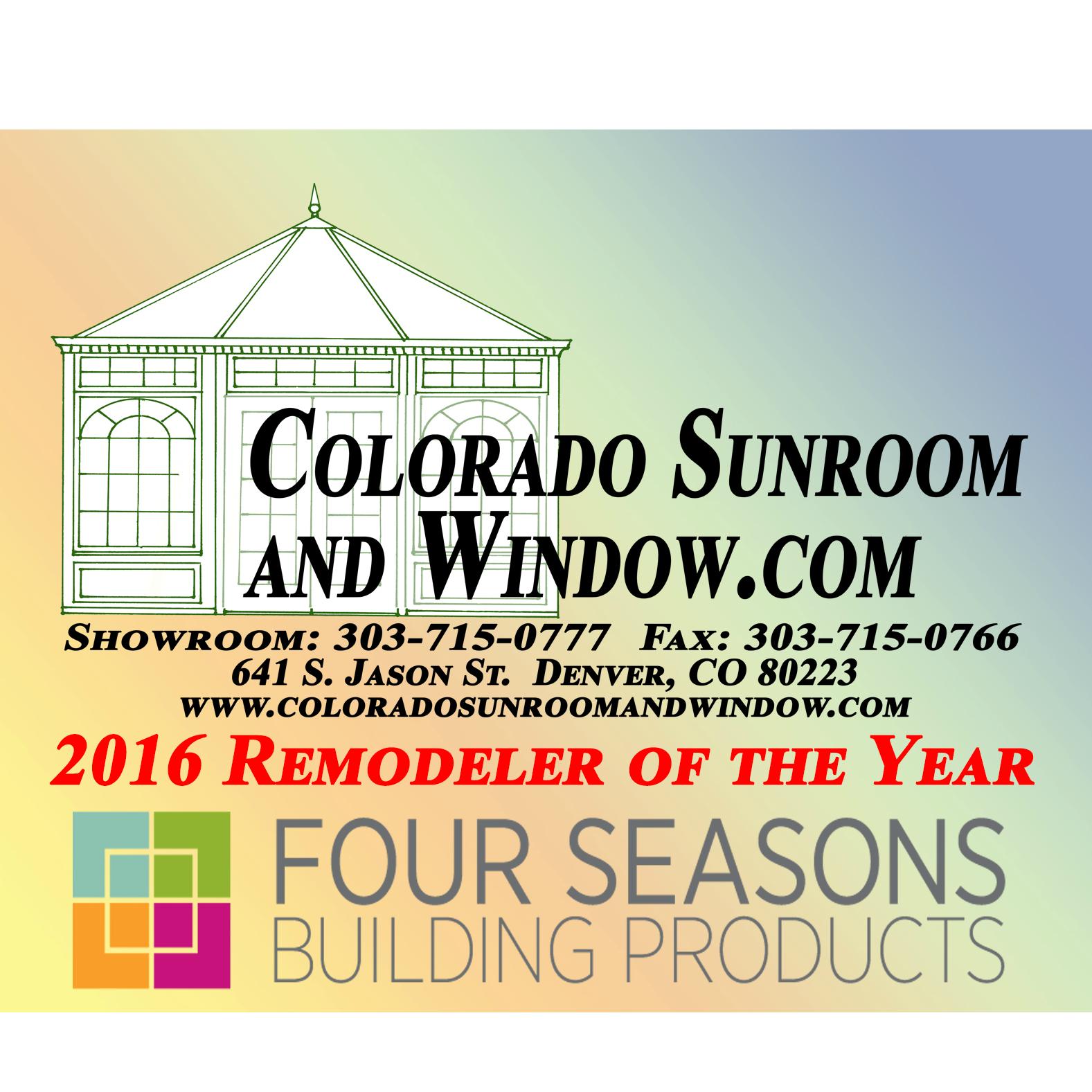 Colorado Sunroom and Window Distributors