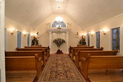 Wedding Chapel at Honeymoon Hills, Gatlinburg Wedding Chapel image 1