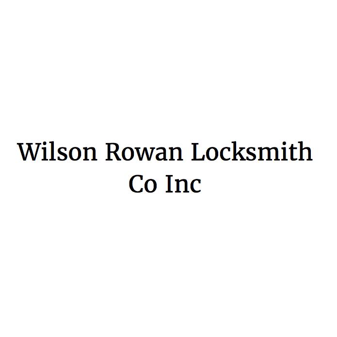 Wilson Rowan Locksmith Co Inc