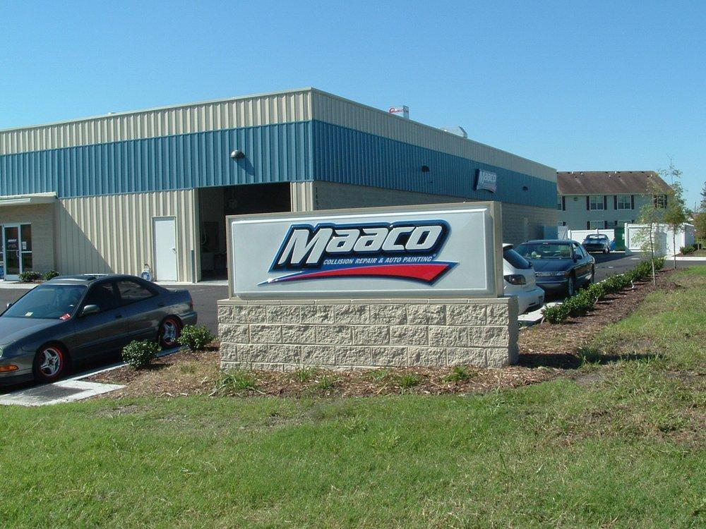 Maaco collision repair auto painting auto body shop for Car paint shop
