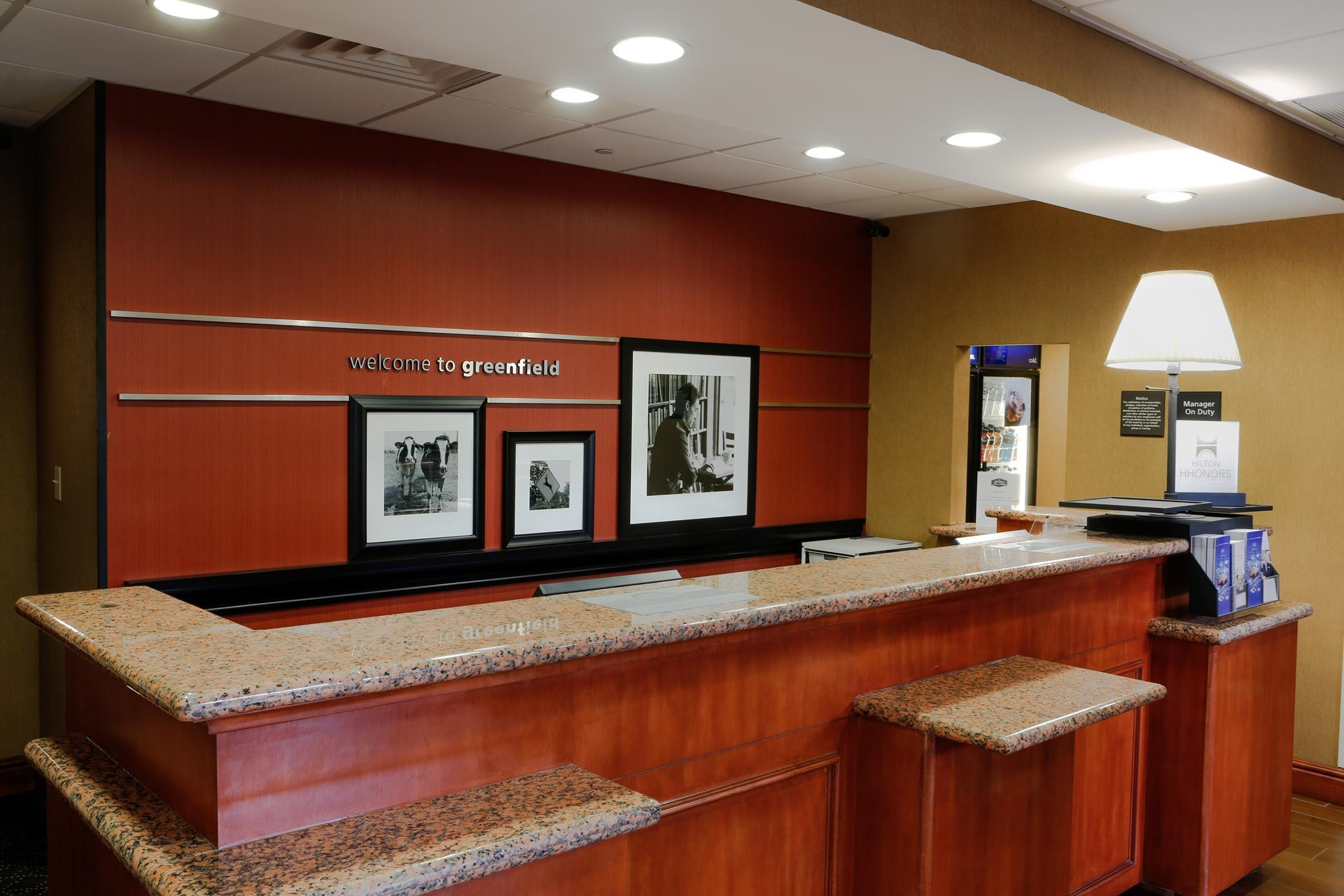 Hampton Inn & Suites Greenfield image 1