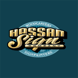 Hassan Wood Carving & Sign