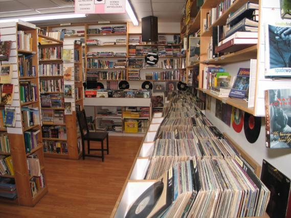 The Book Man in Chilliwack: Selection of Vinyl