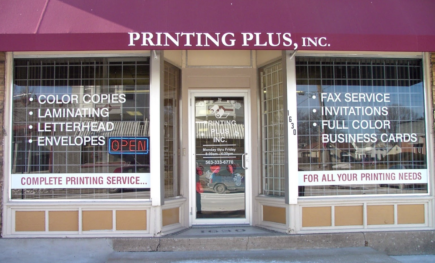 Printing Plus Inc. Signs & Vinyl Graphics image 0