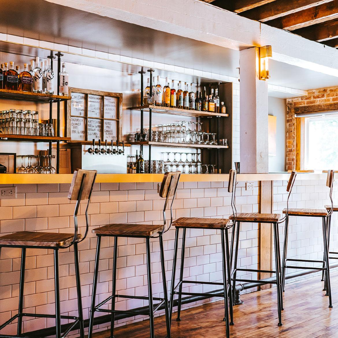The Albany Distilling Company Bar and Bottle Shop