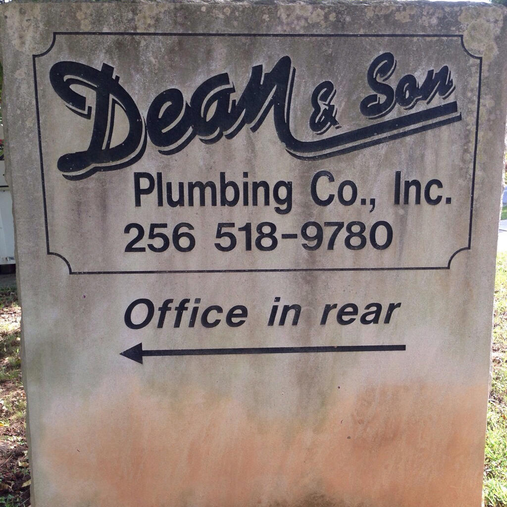 Jerry Carney And Sons Inc Home: Dean And Son Plumbing Co Inc In Brownsboro, AL