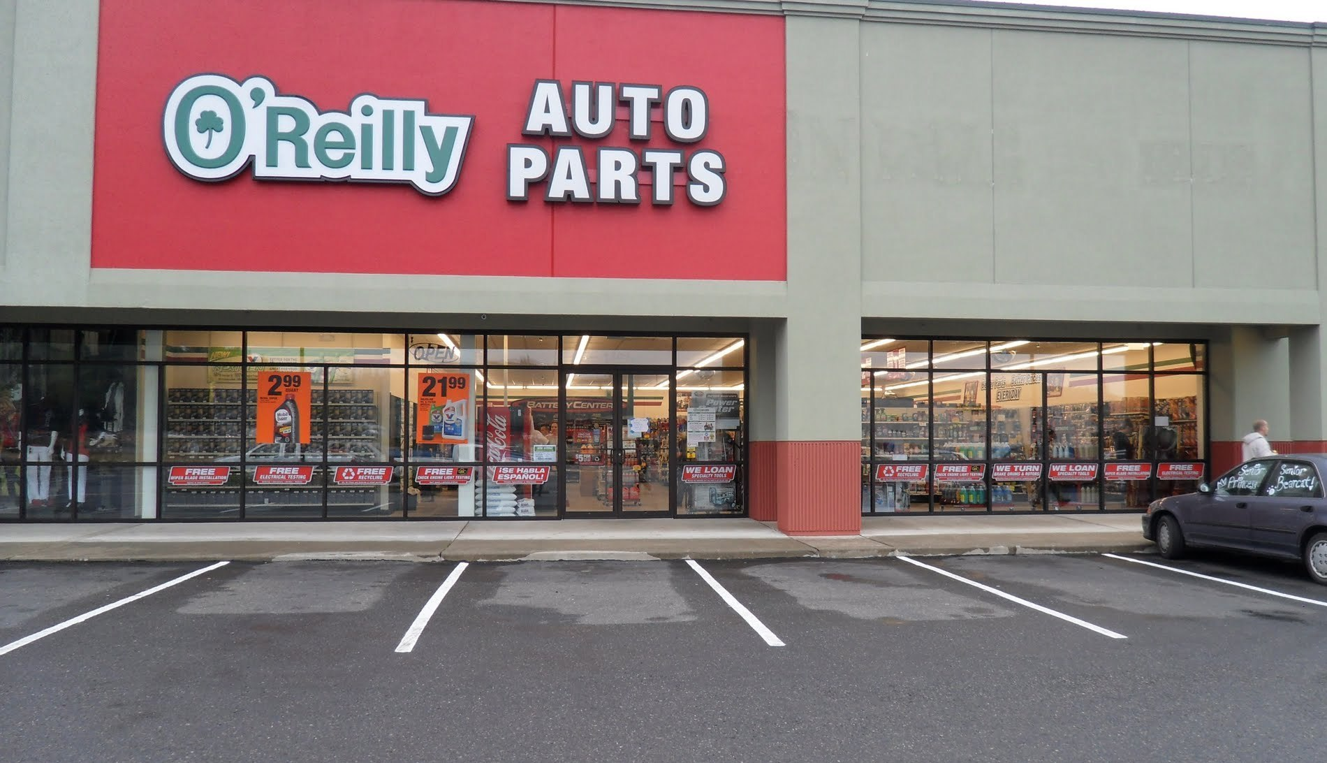 Oreillys auto parts stock : Best buy appliances clearance