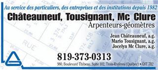 Châteauneuf, Tousignant, Mc Clure à Trois-Rivières