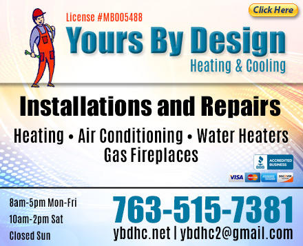 Yours By Design Heating & Cooling, Inc. image 0