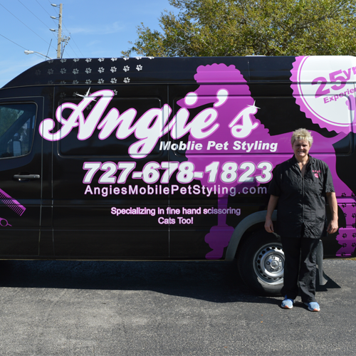 Angie's Mobile Pet Styling