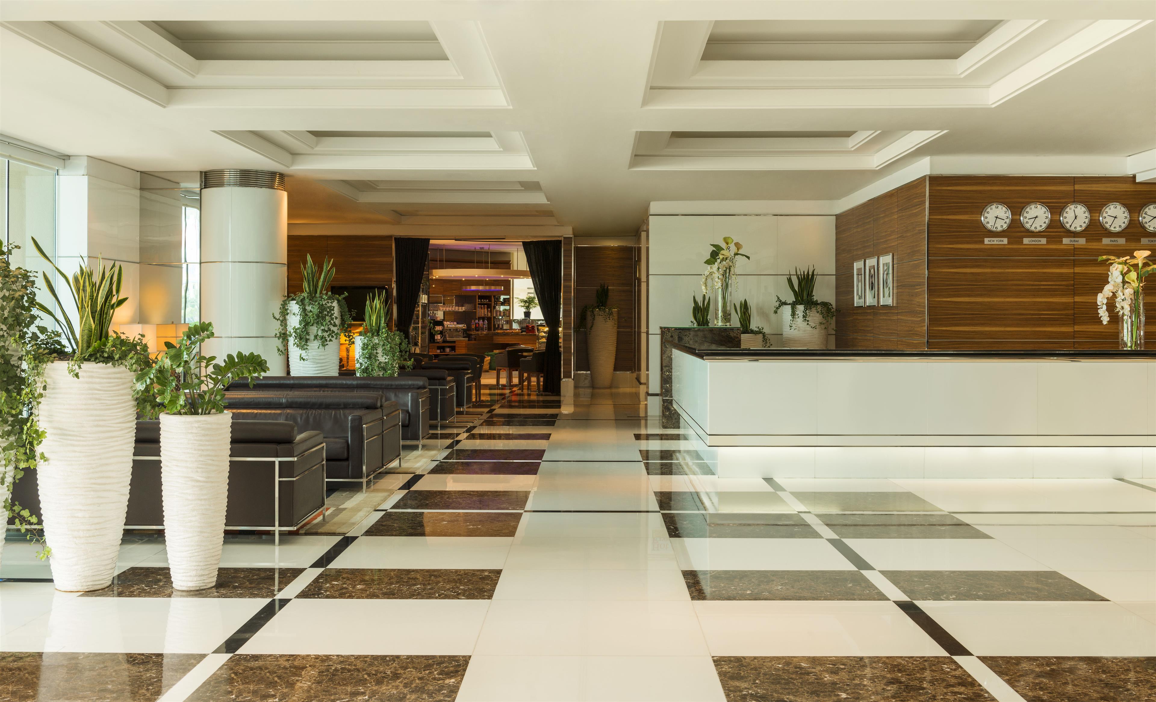 Four points by sheraton downtown dubai for Dubai hotel design