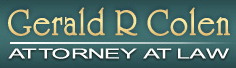 Gerald R Colen - ad image